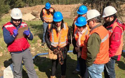 Comunidad de Catemu verifica el cumplimiento de la normativa de calidad de aguas