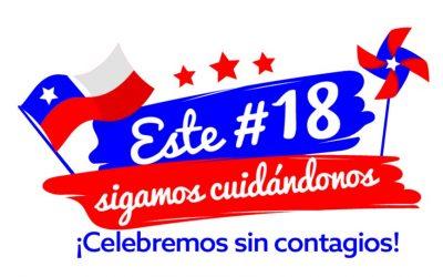 Este 18 sigamos cuidándonos: ¡Celebremos sin contagios!