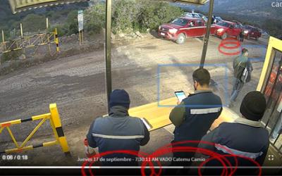 Sistema de monitoreo de video inteligente para reforzar la tarea de trazabilidad